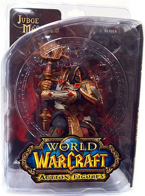 World of Warcraft Series 7 Judge Malthred Action Figure [Human Paladin]