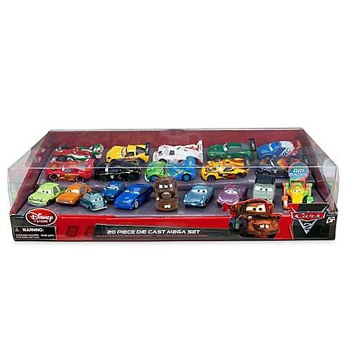 Disney / Pixar Cars 1:43 Multi-Packs Cars 2 Exclusive 20 Piece PVC Figure Mega Play Set [Damaged Package]