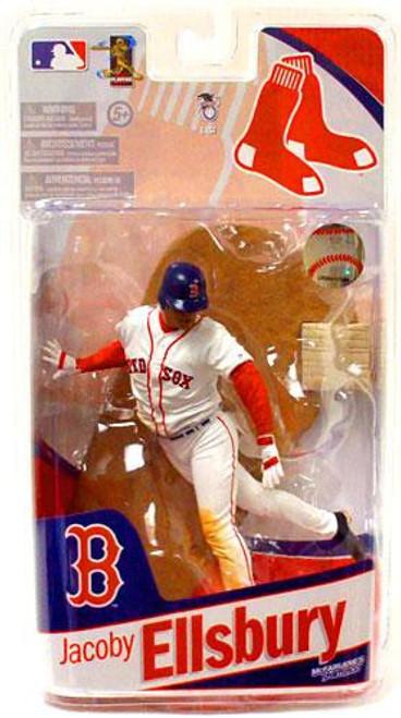 McFarlane Toys MLB Sports Picks 2010 Boston Red Sox Jacoby Ellsbury Action Figure