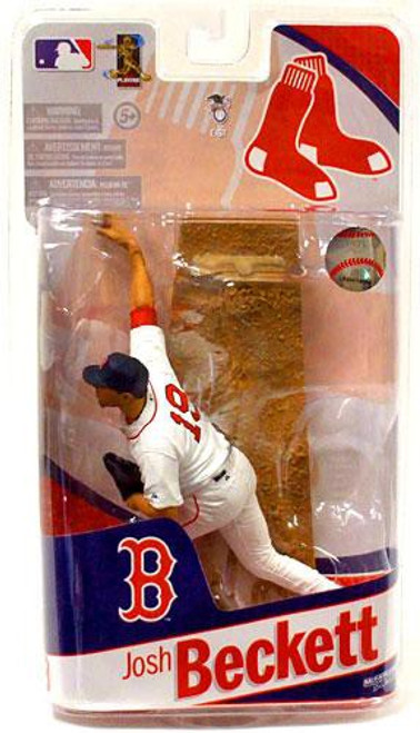 McFarlane Toys MLB Sports Picks 2010 Boston Red Sox Josh Beckett Action Figure