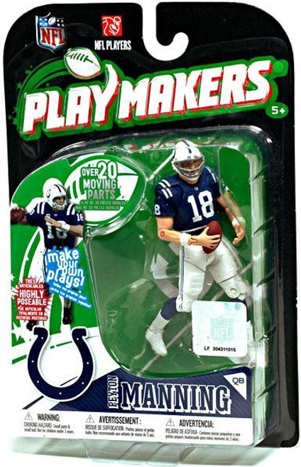 McFarlane Toys NFL Indianapolis Colts Playmakers Series 1 Peyton Manning Action Figure