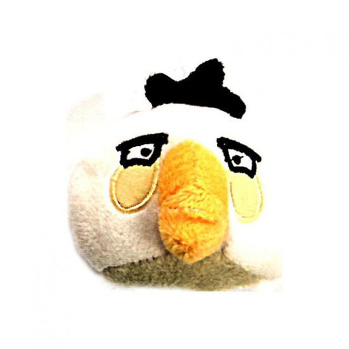 Angry Birds White Bird 3-Inch Bean Bag Plush