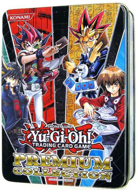 YuGiOh Trading Card Game 2012 Premium Collection Tin Set