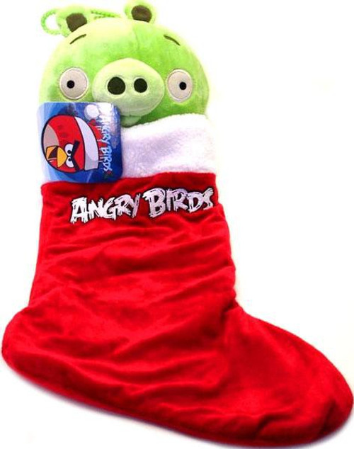 Angry Birds Green Pig Christmas Stocking