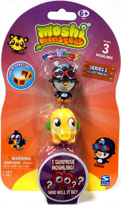 Moshi Monsters Moshlings Series 2 Mini Figure 3-Pack