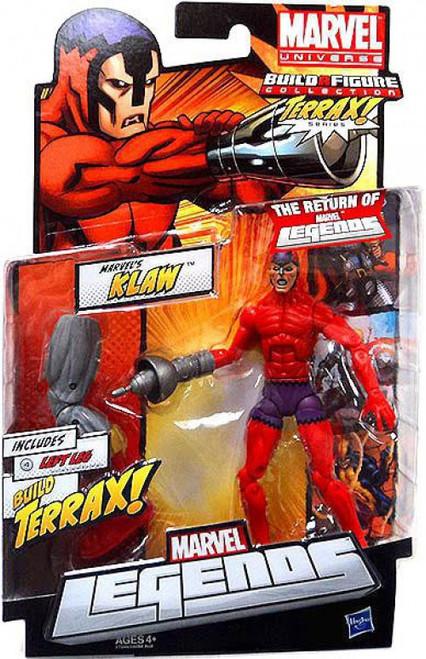 Marvel Legends 2012 Terrax Series Klaw Action Figure