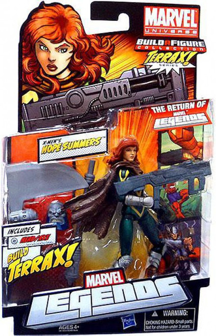 Marvel Legends 2012 Terrax Series Hope Summers Action Figure
