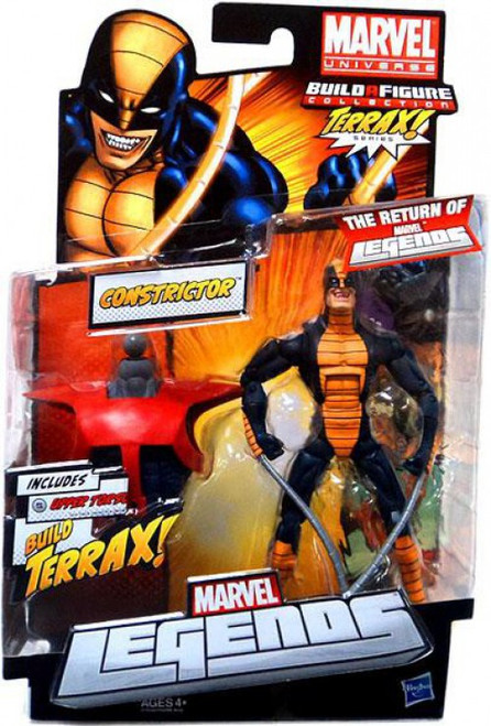 Marvel Legends 2012 Terrax Series Constrictor Action Figure