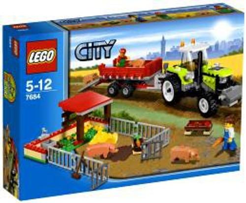 LEGO City Pig Farm & Tractor Set #7684