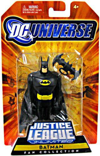 DC Universe Justice League Unlimited Fan Collection Batman Action Figure [Black Costume]