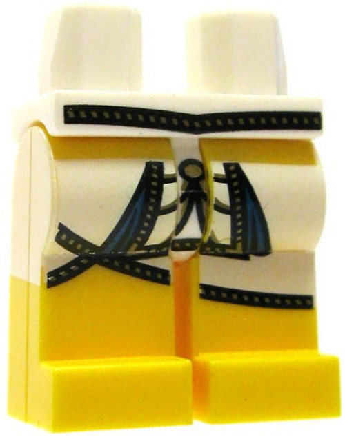 LEGO Yellow with White and Navy Cloth Loose Legs [Loose]
