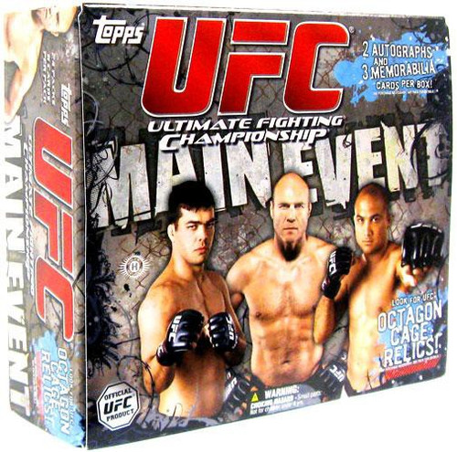 UFC Topps 2010 Main Event Trading Card HOBBY Box [24 Packs]