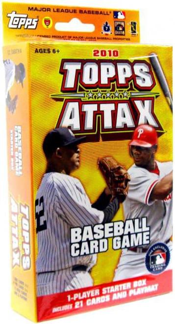 MLB Trading Card Game 2010 Attax Baseball Starter Deck