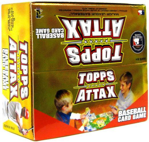 MLB Trading Card Game 2010 Attax Baseball Booster Box [36 Packs]