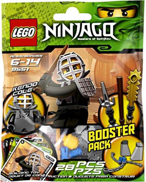 LEGO Ninjago Kendo Cole Mini Set #9551 [Bagged]