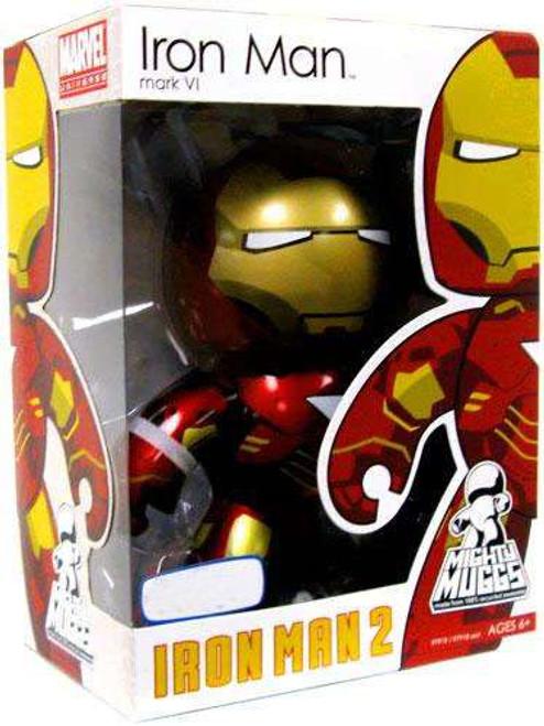 Iron Man 2 Mighty Muggs Iron Man Mark VI Exclusive Vinyl Figure