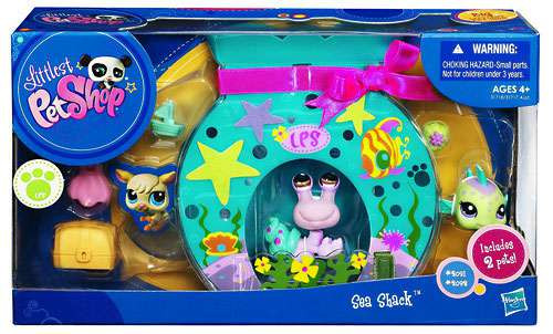 Littlest Pet Shop Sea Shack Exclusive Playset