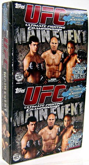 UFC Ultimate Fighting Championship 2010 Round 3 Main Event Trading Card VALUE Box [18 Packs]