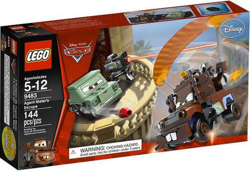 LEGO Disney / Pixar Cars Agent Mater's Escape Set #9483