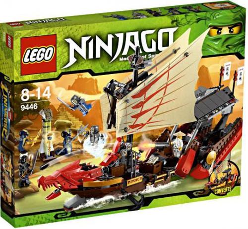 LEGO Ninjago Destiny's Bounty Set #9446