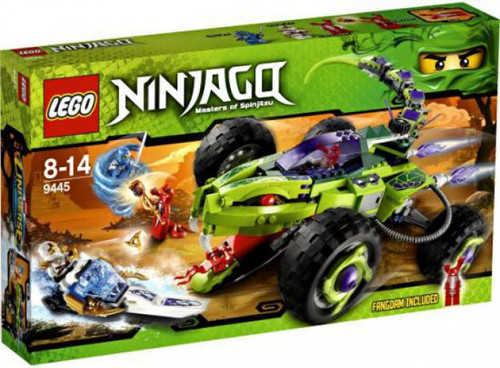 LEGO Ninjago Fangpyre Truck Ambush Set #9445