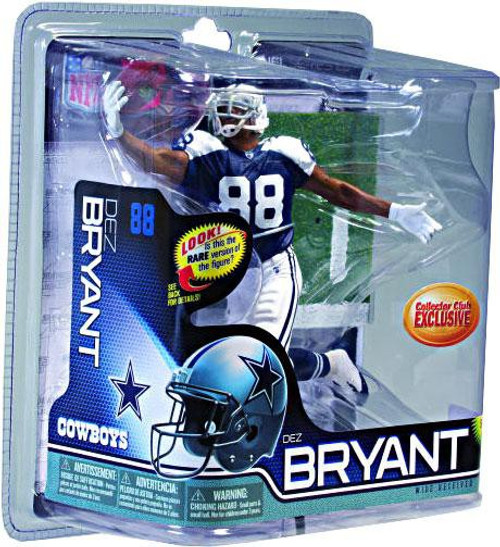 McFarlane Toys NFL Dallas Cowboys Sports Picks Collectors Club Dez Bryant Exclusive Action Figure [Thanksgiving Day Jersey]