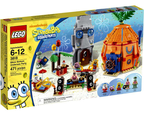 LEGO Spongebob Squarepants Bikini Bottom Undersea Party Set #3818