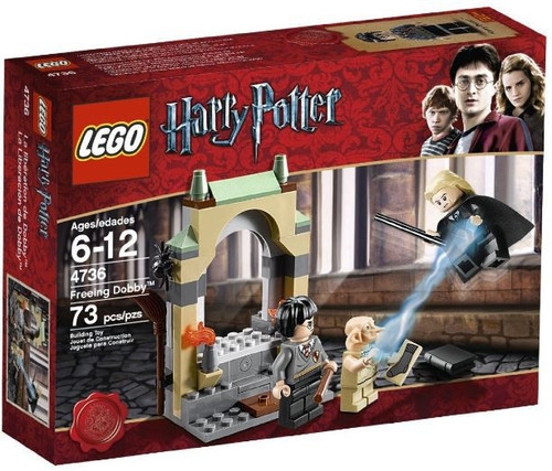 LEGO Harry Potter Series 2 Freeing Dobby Set #4736