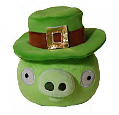 Angry Birds Green Pig 5-Inch Plush [St. Patrick's Day]