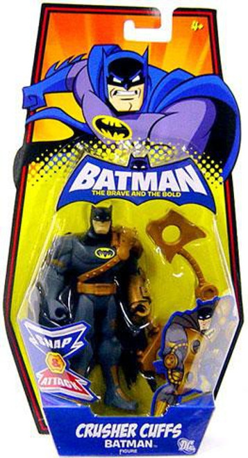 The Brave and the Bold Crusher Cuffs Batman Action Figure