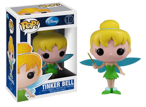 Funko Peter Pan POP! Disney Tinker Bell Vinyl Figure #10