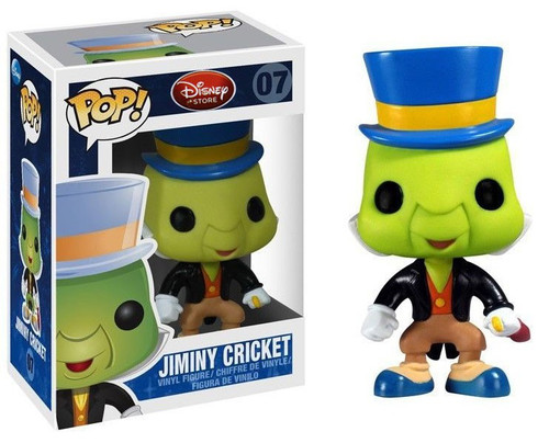 Funko Pinocchio POP! Disney Jiminy Cricket Vinyl Figure #07