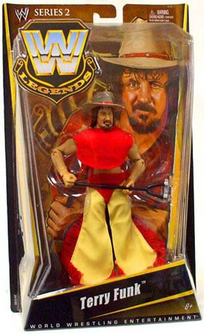 WWE Wrestling Legends Series 2 Terry Funk Action Figure