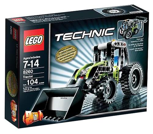 LEGO Technic Tractor Set #8260