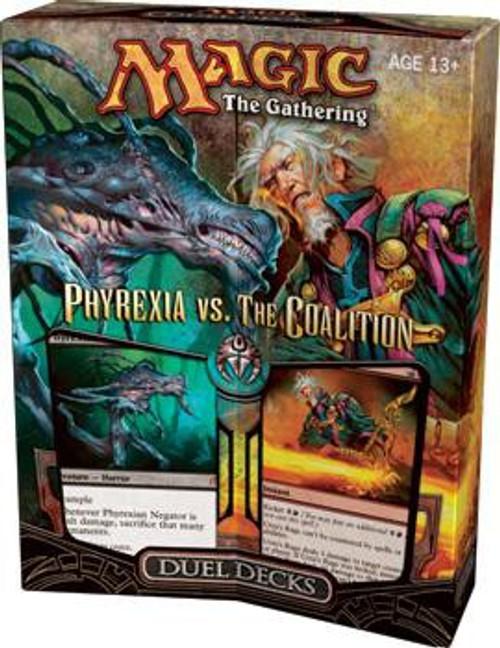MtG Trading Card Game Phyrexia vs. the Coalition Duel Decks