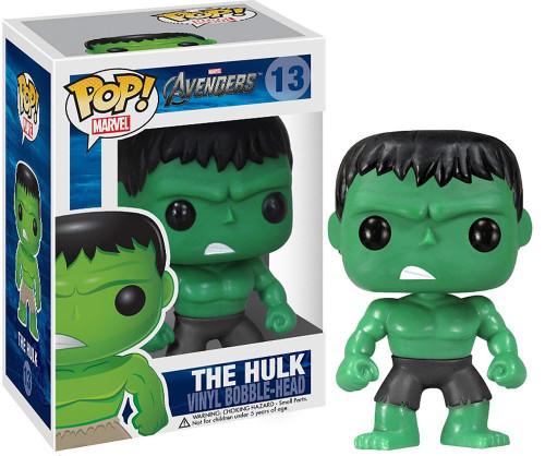 Funko Avengers POP! Marvel The Hulk Vinyl Bobble Head #13 [Black Pants]