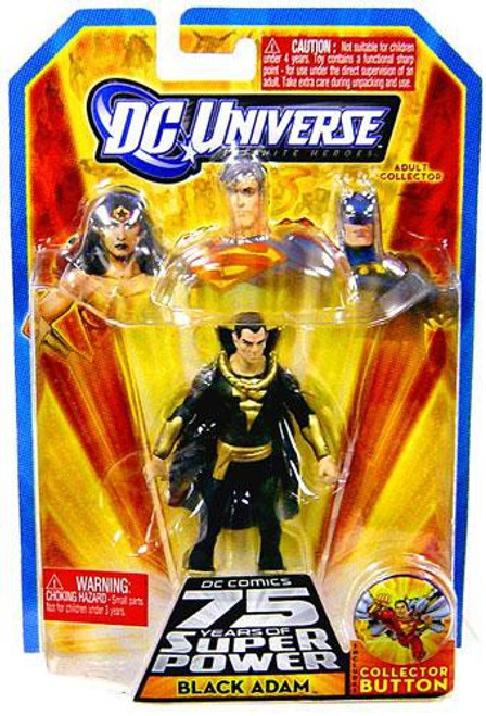 DC Universe 75 Years of Super Power Infinite Heroes Black Adam Action Figure
