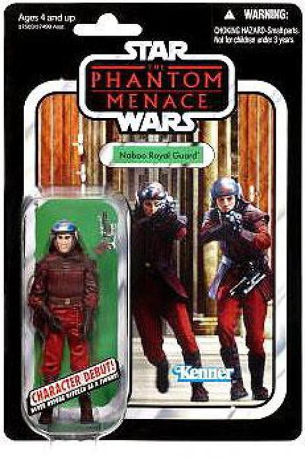 Star Wars Phantom Menace 2012 Vintage Collection Naboo Royal Guard Action Figure #83