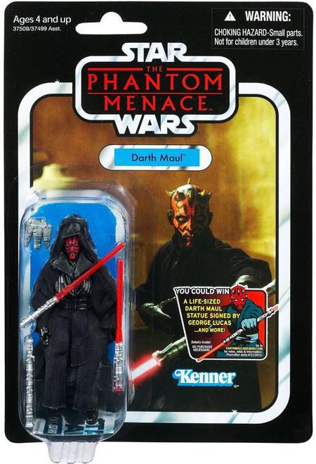 Star Wars Phantom Menace 2012 Vintage Collection Darth Maul Action Figure #86 [Final Battle]