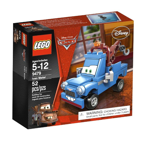 LEGO Disney / Pixar Cars Ivan Mater Set #9479