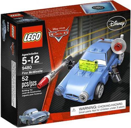 LEGO Disney / Pixar Cars Finn McMissile Set #9480