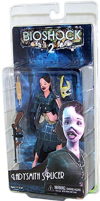 NECA Bioshock 2 Series 2 Ladysmith Splicer Action Figure