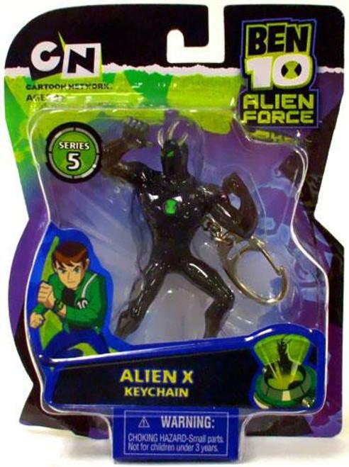 Ben 10 Alien Force Series 5 Alien X Keychain