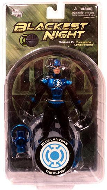 DC Green Lantern Blackest Night Series 6 Blue Lantern The Flash Action Figure
