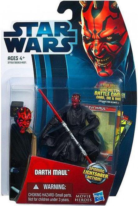 Star Wars Phantom Menace 2012 Movie Heroes Darth Maul Action Figure #5 [Version 1]