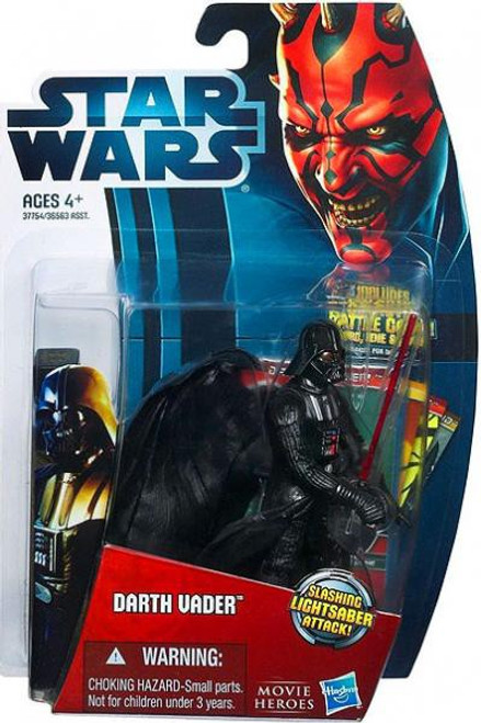 Star Wars The Empire Strikes Back 2012 Movie Heroes Darth Vader Action Figure #6 [Version 1]