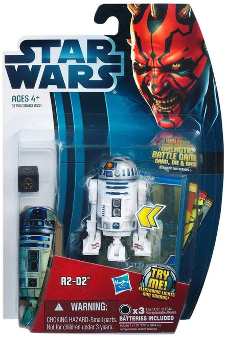 Star Wars Phantom Menace 2012 Movie Heroes R2-D2 Action Figure #3