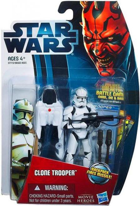 Star Wars The Clone Wars 2012 Movie Heroes Clone Trooper Action Figure #11