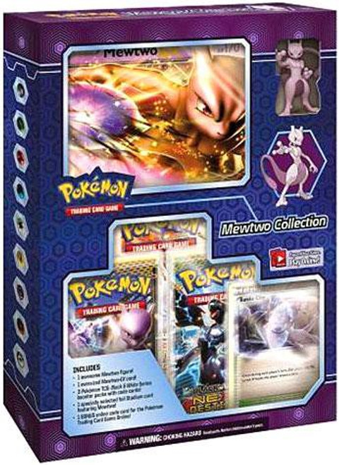 Pokemon Trading Card Game Black & White Next Destinies Mewtwo Collection Box [3 Booster Packs, Oversize Card & Figure! ]