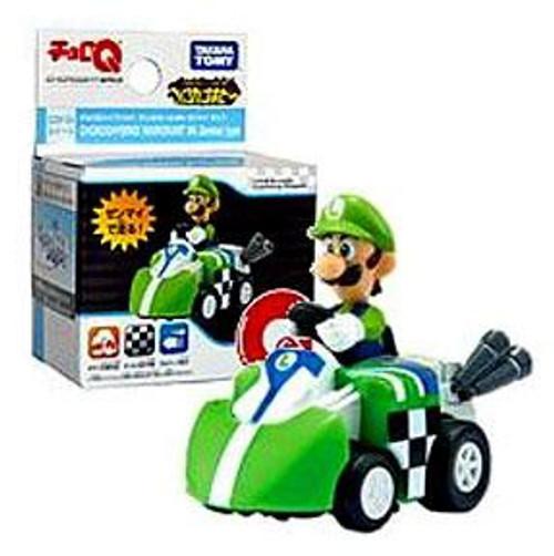 Super Mario Mario Kart Wii Hybrid Pull Back Racer Luigi Vehicle